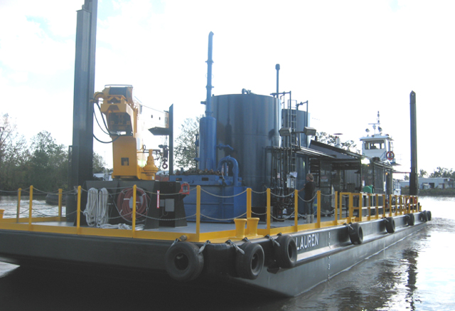 USCG Certified Hot Oil Barge