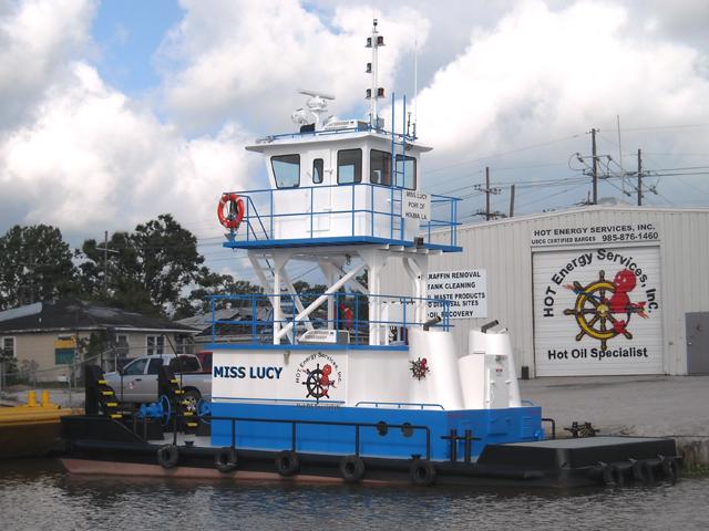 600 HP Twin Screw Tug Boat