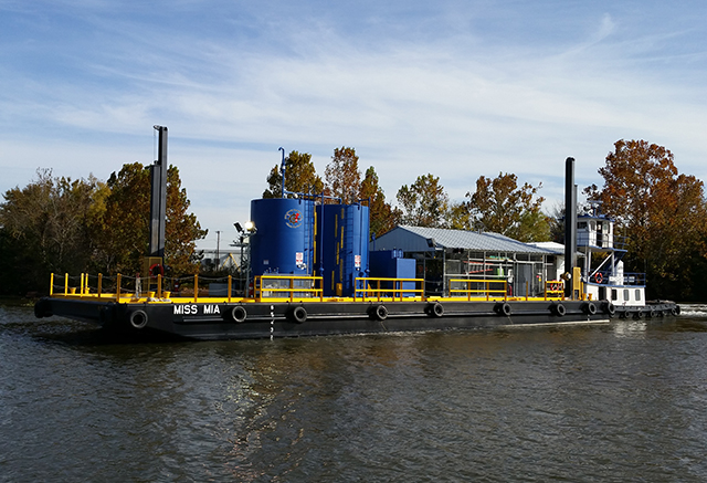U.S.C.G. Certified Hot Oil Barge